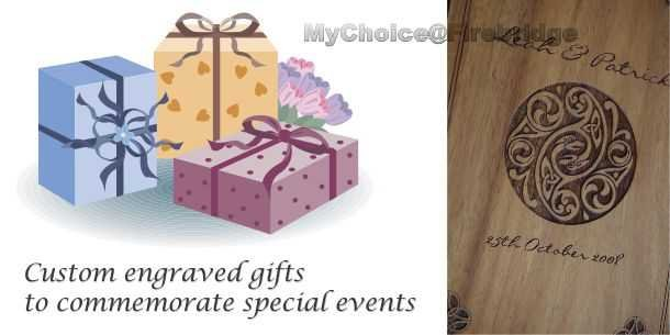 Custom engraved gifts for events
