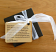 Coasters gift box with gift wrap engraved tag
