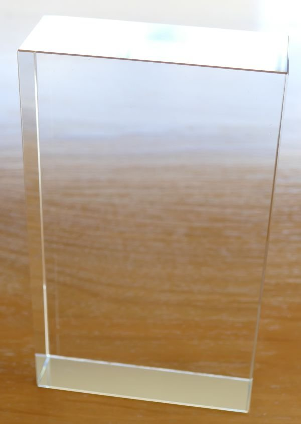 Thumb_Crystal award blank 170 x 100 x 40 mm