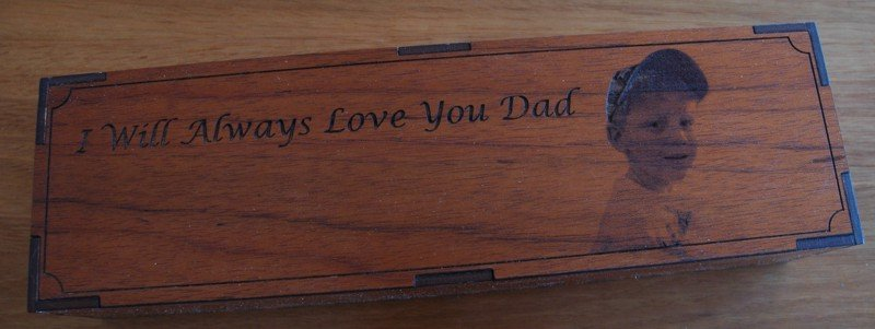 Thumb_Red Gum engraved box with six shot glasses