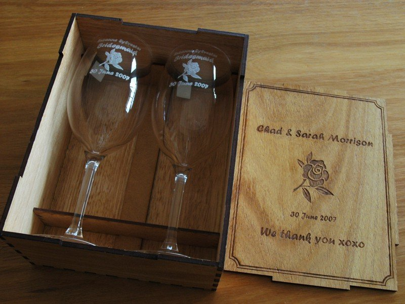 Thumb_Pair wine glasses engraved blackwood box