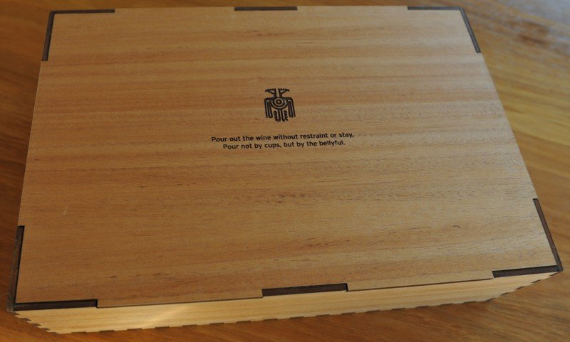 Thumb_Blackwood engraved box with 4 wine glasses
