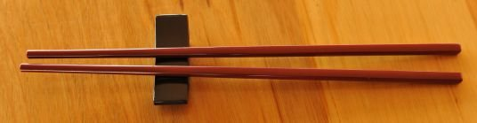 Thumb_Black rest  with Maroon Chop Sticks