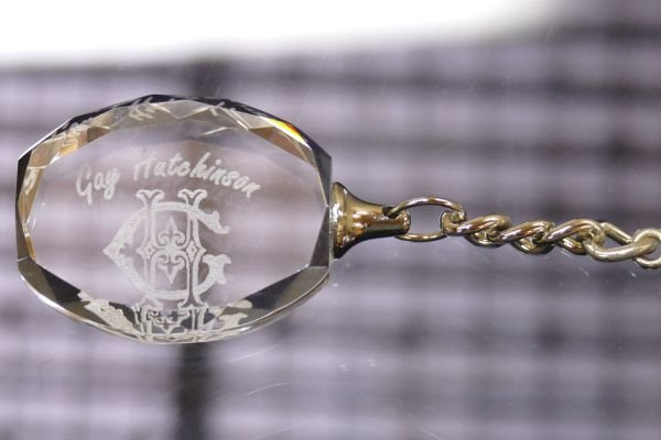 Thumb_Crystal Key ring Oval facets laser engraved