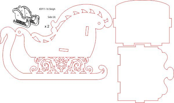 Thumb_Sleigh Doll house kit layout