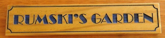 Thumb_Timber sign Treated Pine 50 x 250 mm blue fill border