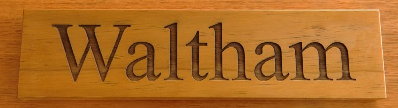Thumb_Timber sign Treated Pine engraved 75 x 300 mm