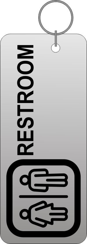 Thumb_Silver rest room tag UNISEX