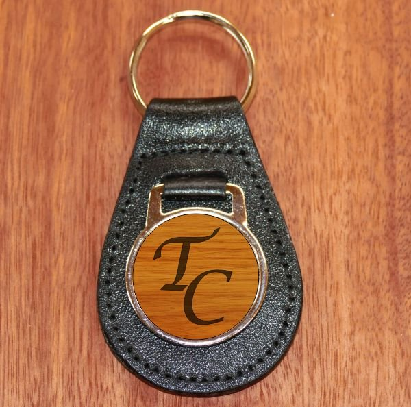 Key Fob Leather