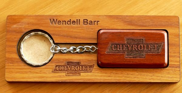 Thumb_Blackwood display Chevrolet engraved emblem