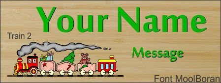 Thumb_Door sign Train 2 font: MoolBoran