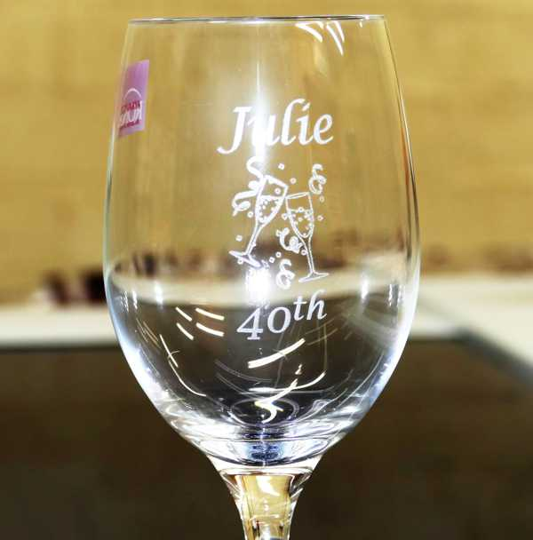 Thumb_Wine glass 40th birthday