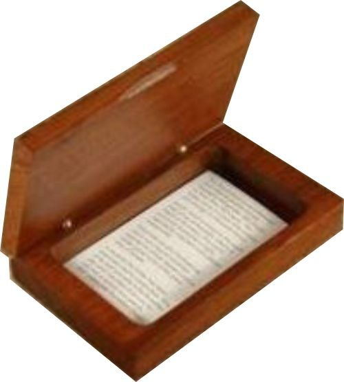 Business Card box Jarrah