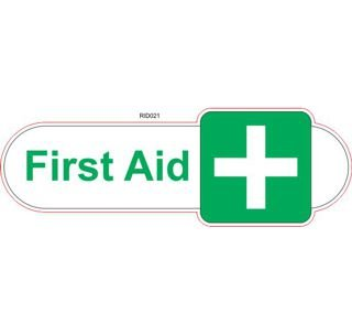 First aid symbol ID sign
