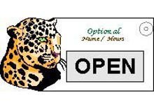 Open Closed window sign promotional
