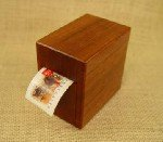Stamp Dispenser Jarrah box
