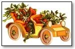Floral vintage car with flowers 015