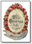 Christmas tide happiness in wreath 278