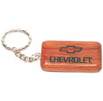 Rectangular Rosewood Keychain 55x28x6 mm