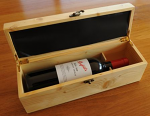 Wine bottle Pine box
