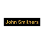 """Personal Engraved Name Tag 15 mm high (0.6"""") by chosen length"""