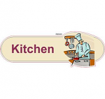 Kitchen Cook ID sign