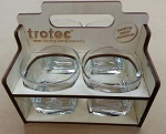 Whisky Glass set 4 Carry Box