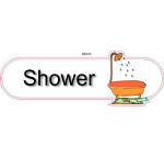 Shower ID sign