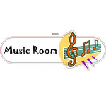 Music room ID sign
