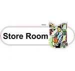 Store room ID sign