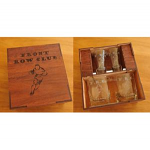Engraved Whisky and shot glass set