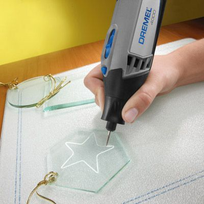 Engraving Glass Using Hand-held Rotary Tool