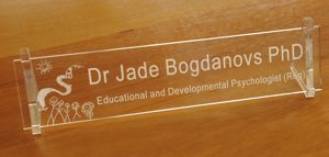 The Importance of Desk Name Plates