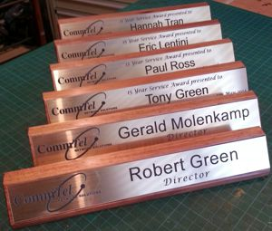 The Necessity of Desk Name Plates