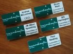 Personal Name Tags