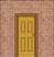Thumb_Cut wall with Frame, Door, Architrave