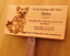 Thumb_Western Red Cedar with engraved photo and text
