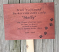 Thumb_Red gum garden marker engraved paw prints text