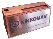 Desk Name Plate Pen and Card Holder Timber length chosen