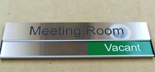 Door sign | Room Name and status slider 300 X 90 mm