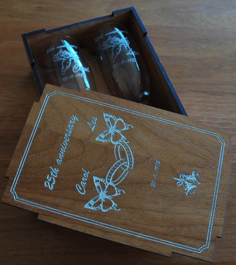 Champagne Flute 155 ml pair in Box