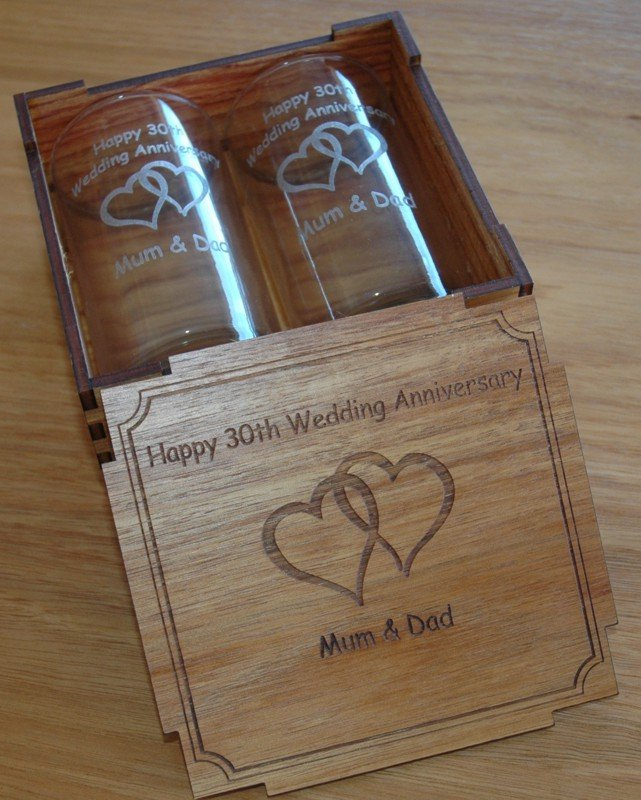 Thumb_Blackwood box engraved with pair tumbler glasses Hi ball