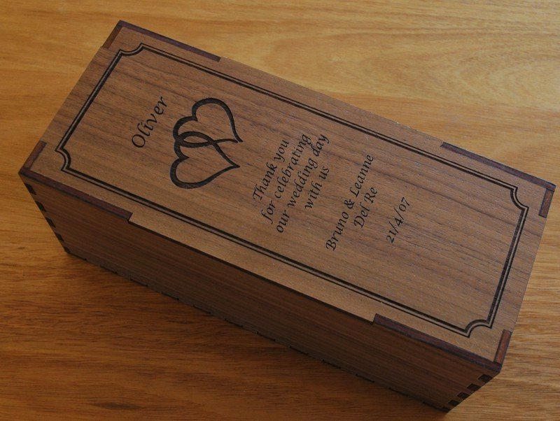 Thumb_Citation wine glass engraved walnut box wedding party