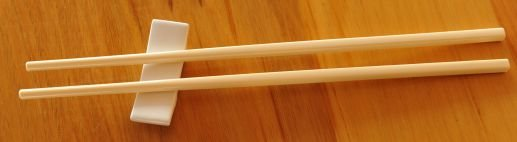 Thumb_White rest  with Ivory Chop Sticks
