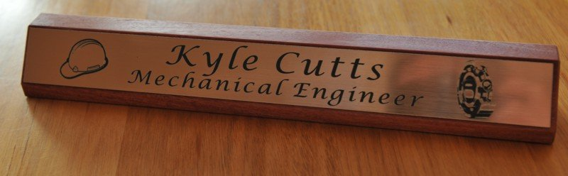 Thumb_Red gum desk name plate copper with black engraving