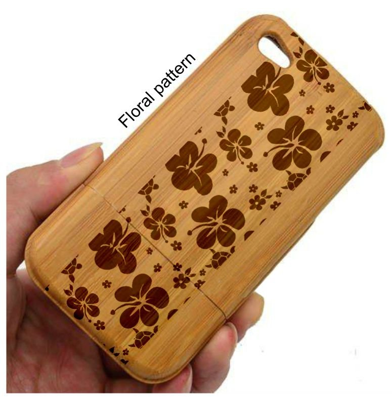 Timber Engraved Phone Cover