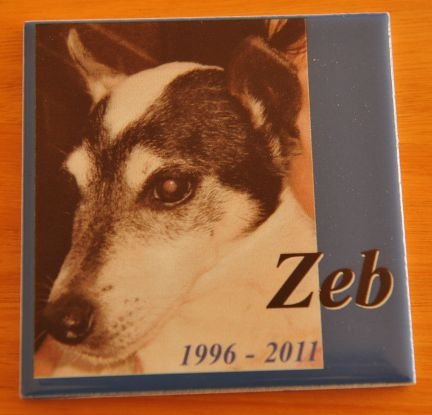 Thumb_Printed tile memorial Hawk Grey photo text with shadow effect