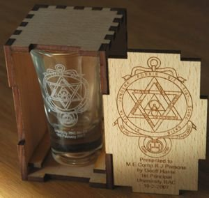 Shot Glass single in Box