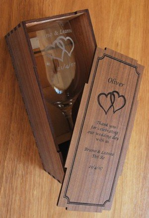 Rona wine glass single in Box