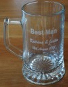 Beer Glass and Tankards